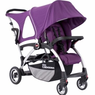 Joovy Ergo Caboose Deluxe Fleece Package in Purpleness