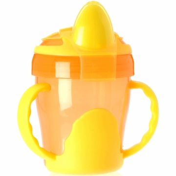 Vital Baby Two Handled Trainer Cup 7oz in Orange