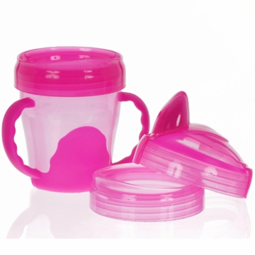 Vital Baby 3 Stage Trainer Cup 7oz in Pink