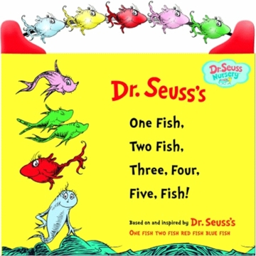 Dr. Seuss One Fish, Two Fish, Three, Four, Five Fish (Dr. Seuss Nursery Collection)