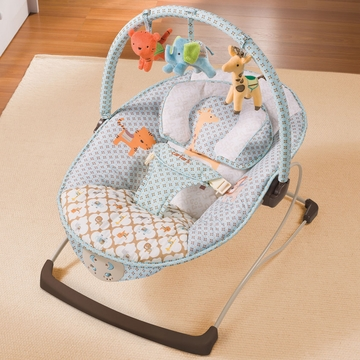 Carter's Animal Parade Snuggle 'N Comfort Musical Bouncer by Summer Infant
