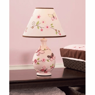 Carter's Butterfly Flowers Lamp Base & Shade
