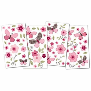 Carter's Butterfly Flowers Wall Decals
