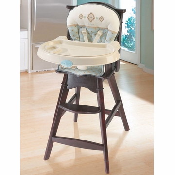Carter's Classic Comfort Reclining Wood High Chair - Whisper - D