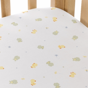 Carter's Easy Fit Crib Printed Fitted Sheet in Frog