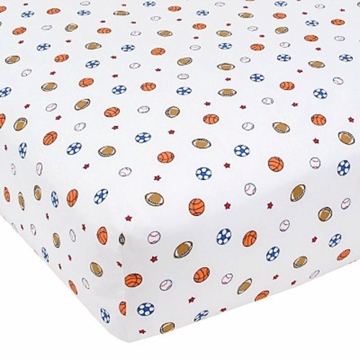 Carter's Easy Fit Crib Printed Fitted Sheet in Sport