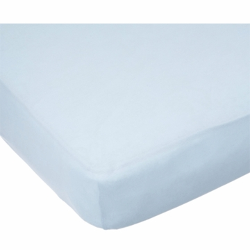 Carter's Easy Fit Jersey Cradle Fitted Sheet in Blue