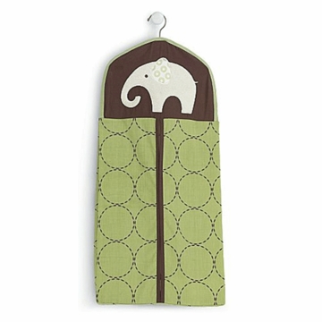 Carter's Elephants Green Diaper Stacker