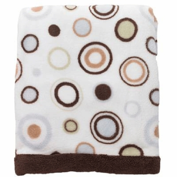 Carter's Everyday Easy Boa Blanket - Circles