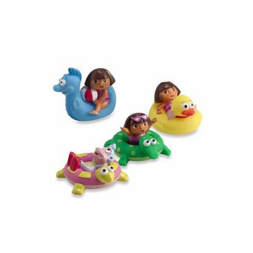 Munchkin Dora the Explorer Bath Squirters 31403