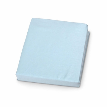Carter's Jersey Fitted Crib Sheet in Blue