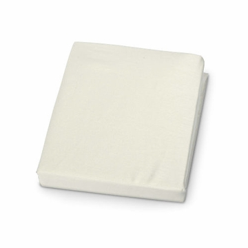 Carter's Jersey Fitted Crib Sheet in Ecru