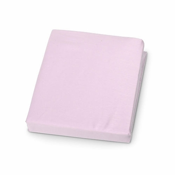 Carter's Jersey Fitted Crib Sheet in Pink