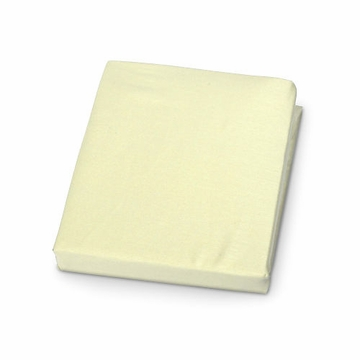 Carter's Jersey Fitted Crib Sheet in Yellow
