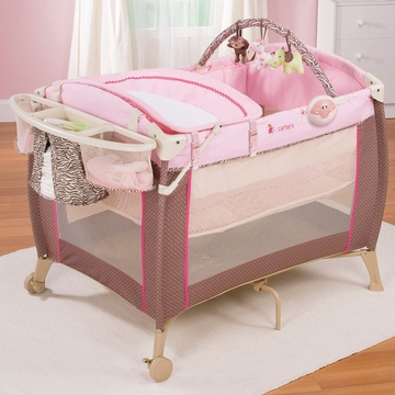 Carter's Jungle Jill Comfort 'N Care Playard and Changer by Summer Infant