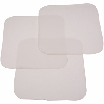Carter's Keep Me Dry Flannel Lap Pads- 3 Pack