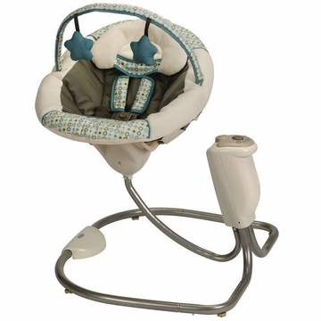 Graco Sweet Snuggle Infant Soothing Swing - Oasis