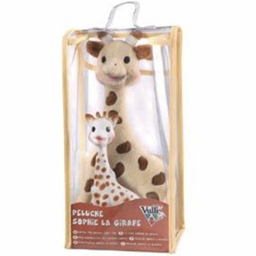 Vulli Sophie The Giraffe Set: Soft Toy + Latex Toy