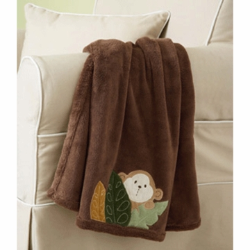 Carter's Monkey Bars Boa Blanket