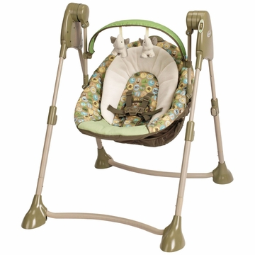Graco Swing by Me 2-In-1 Portable Swing - Zooland