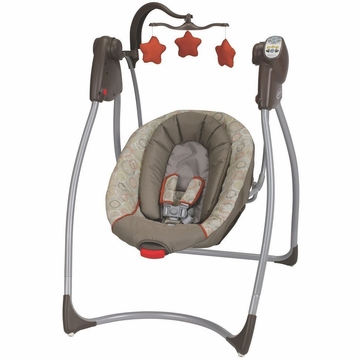 Graco Comfy Cove LX (no plug) Infant Swing - Forecaster