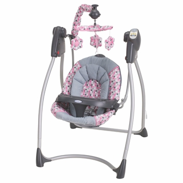 Graco Lovin Hug Infant Swing With Plug In - Ally