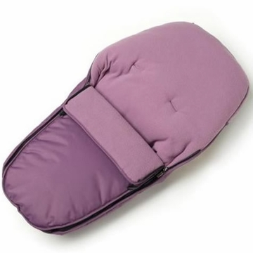 iCandy Flavour Superfleece Luxury Footmuff - Grape