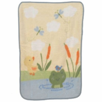 Carter's Snoozysnug High Pile Blanket- Frog
