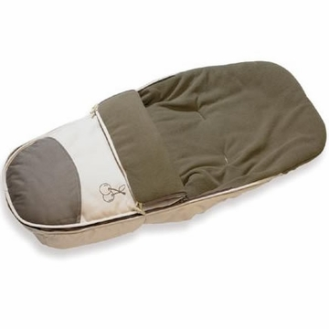 iCandy Cherry Superfleece Luxury Footmuff - Fudge
