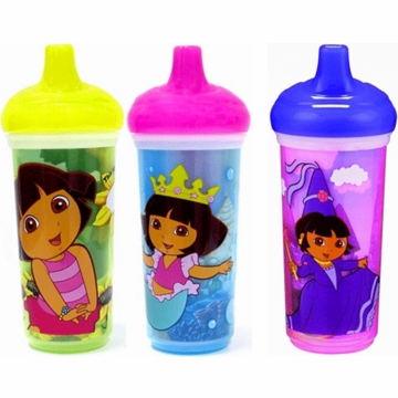 Munchkin Dora the Explorer Insulated Spill-Proof Cup- 1 PK