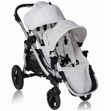 Baby Jogger City Select Stroller with Second Seat Kit in Diamond