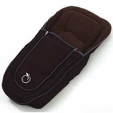iCandy Peach Standard Luxury Footmuff - Black Jack