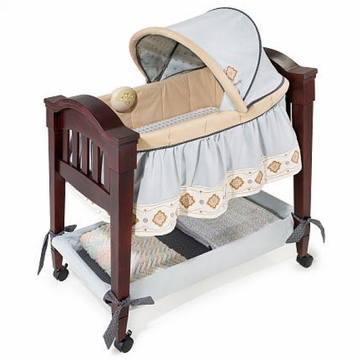 Carter's Whisper Classic Comfort Wood Bassinet by Summer Infant