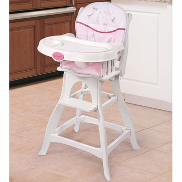 Carter's Wish Classic Comfort Wood High Chair by Summer Infant