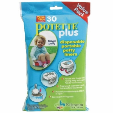 Kalencom Pottete Plus Refill Liner Value Pack - 30 ct