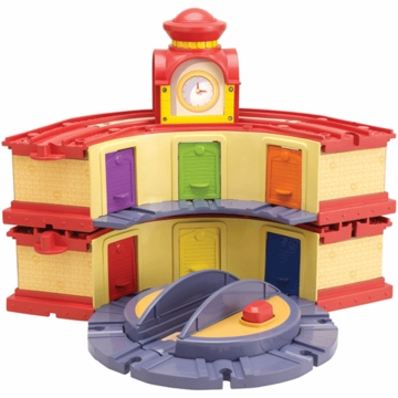 Chuggington Wood Double Decker Roundhouse