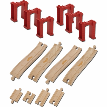 Chuggington Wood Elevated Track Pack