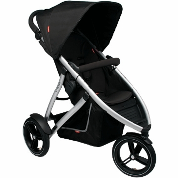 Phil & Ted Vibe Buggy Single in Black