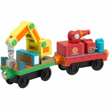 Chuggington Wood Rescue Cars- 2 Pack