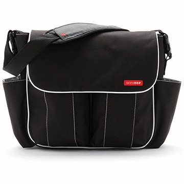 Skip Hop Dash Deluxe Edition Diaper Bag in Black