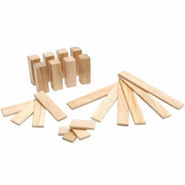 Tegu Endeavor Set: Natural Magnetic Blocks (22 pcs)