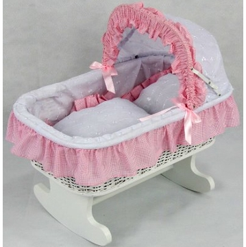 Regal Doll Carriages Susanne Rocking Bed