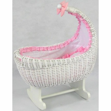 Regal Doll Carriages Miranda Rocking Cradle