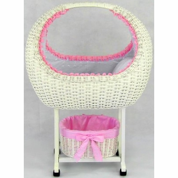 Regal Doll Carriages Megan Doll Bed + Tidy