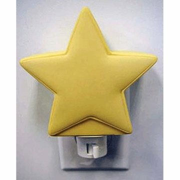 Katie Little Night Light in Yellow Star