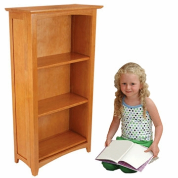 KidKraft Avalon Tall Bookshelf in Honey
