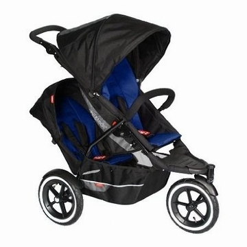 Phil & Teds Explorer Buggy Stroller with Double Kit - Navy