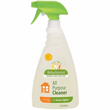 Babyganics Grime Fighter All Purpose Cleaner - Citrus- 32 oz