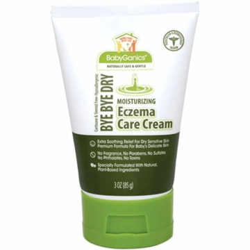 Babyganics Eczema Care Moisurizing Cream 3 oz Fragrance Free