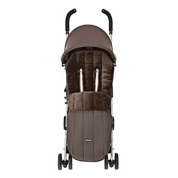 Maclaren Deluxe Footmuff Coffee Brown